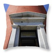 Ponce Entrance Throw Pillow