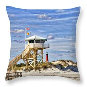 Ponce Inlet Scenic Throw Pillow