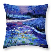 Pond 563111 Throw Pillow