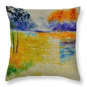 Pond 883120 Throw Pillow