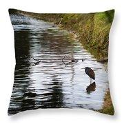 Pond Life Throw Pillow
