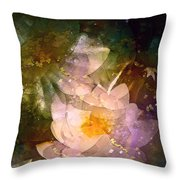 Pond Lily 23 Throw Pillow