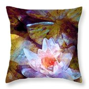 Pond Lily 26 Throw Pillow