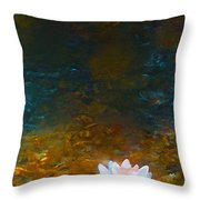Pond Lily 27 Throw Pillow