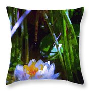 Pond Lily 28 Throw Pillow