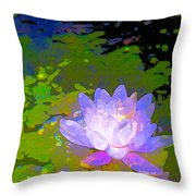 Pond Lily 29 Throw Pillow
