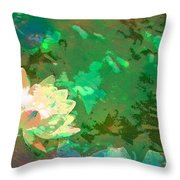 Pond Lily 31 Throw Pillow