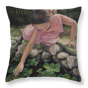 Pond Magic Throw Pillow