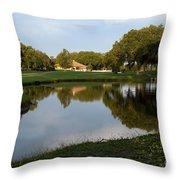 Pond View Throw Pillow