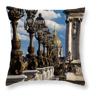 Pont Alexandre IIi Throw Pillow