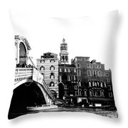 Ponte Realto Throw Pillow