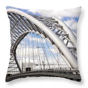 Ponte Settimia Spizzichino Throw Pillow