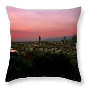 Ponte Vecchio Throw Pillow