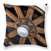 Pontiac Custom Sedan Throw Pillow
