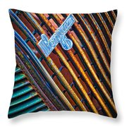 Pontiac Grille Throw Pillow