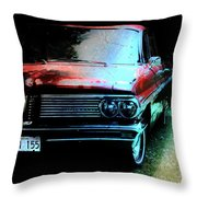 Pontiac Shade N Sun  Throw Pillow