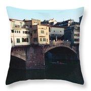 Ponto Vecchio Florence Palette Throw Pillow