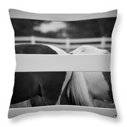 Pony Farm 2011 Throw Pillow