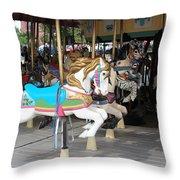 Pony Series 4 Throw Pillow