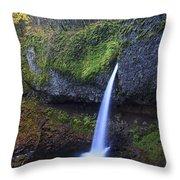 Ponytail Falls Throw Pillow