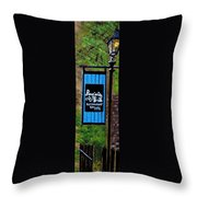 Poogan's Porch Throw Pillow