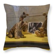 Pooh And Friends Throw Pillow