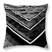 Pool Abstraction Palm Springs Throw Pillow