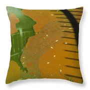 Pool- Reflection And Shadow Throw Pillow