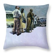 Pools Of Defiance Throw Pillow by Colin Bootman