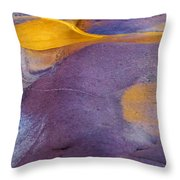 Pools Of Gold Throw Pillow