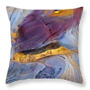 Pools Of Gold II Throw Pillow
