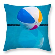Pooltime Throw Pillow