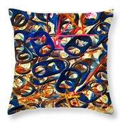Pop Art B14 Throw Pillow