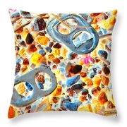 Pop Art B16 Throw Pillow