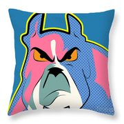 Pop Art Dog  Throw Pillow
