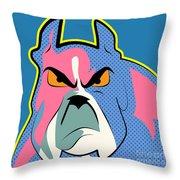 Pop Art Dog  Throw Pillow