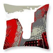 Pop Art Nyc 4 Throw Pillow
