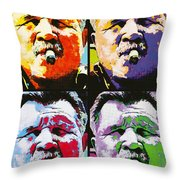 Pop Ditka Throw Pillow