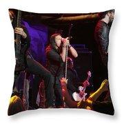 Pop Evil Throw Pillow