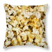 Popcorn - Featured 3 Throw Pillow