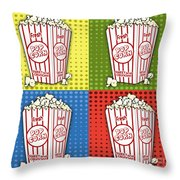 Popcorn Pop Art-jp2375 Throw Pillow