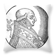 Pope Gregory II (d Throw Pillow