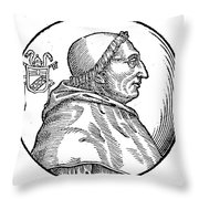 Pope Innocent Viii (1432-1492) Throw Pillow