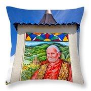 Pope John II Throw Pillow