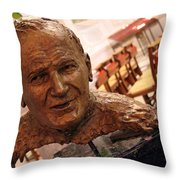 Pope John Paul II In St. Matthew's Cathedral -- 2 Throw Pillow