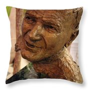 Pope John Paul II In St. Matthew's Cathedral -- 1 Throw Pillow