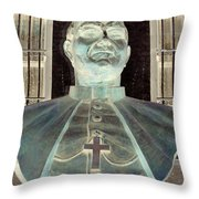 Pope John Paul The Second Throw Pillow