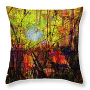 Poppies In Paradise Throw Pillow