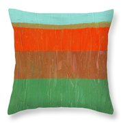 Poppies Will Make Them Sleep Throw Pillow