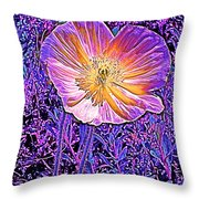 Poppy 3 Throw Pillow